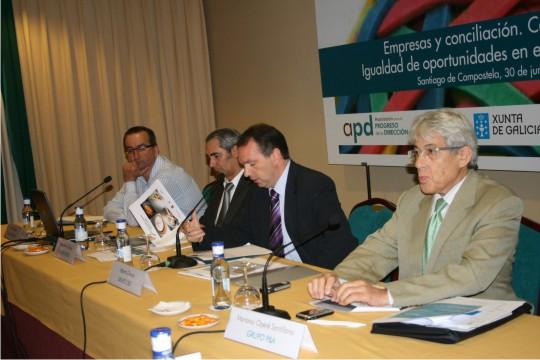 Jornada de conciliación en Santiago de Compostela promovida por la Secretaría Xeral de Igualdade da Xunta de Galicia