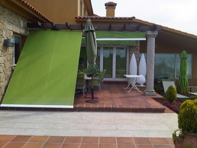 Blog terraza for Toldo lateral para terraza