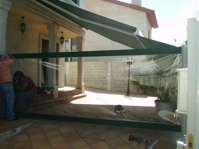 Transparente p gina 12 blog for Toldo lateral para terraza