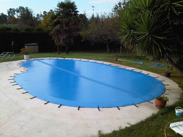 Cubierta para piscina i blog for Cubiertas de lona para piscinas