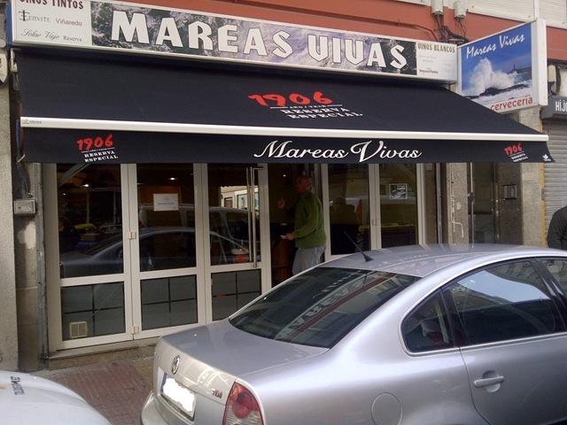 Toldo xacobeo blog for Brazos para toldos precios