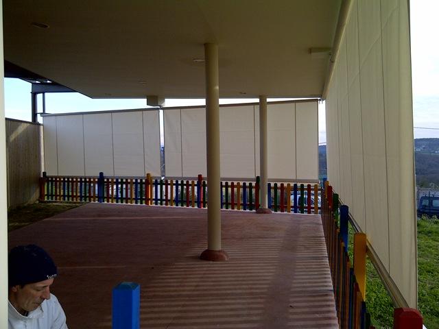 Toldos para protecci n solar lateral blog - Cortinas toldo para terrazas ...