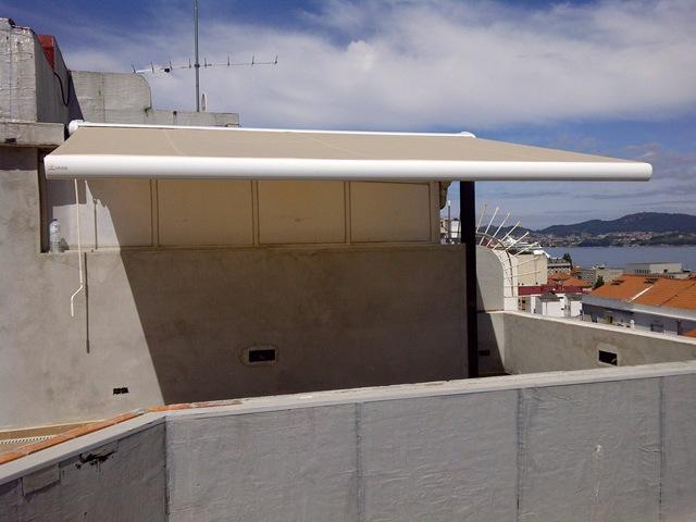 Ahora si se puede disfrutar hasta con sol de las magníficas vistas que les otorga un 11º piso