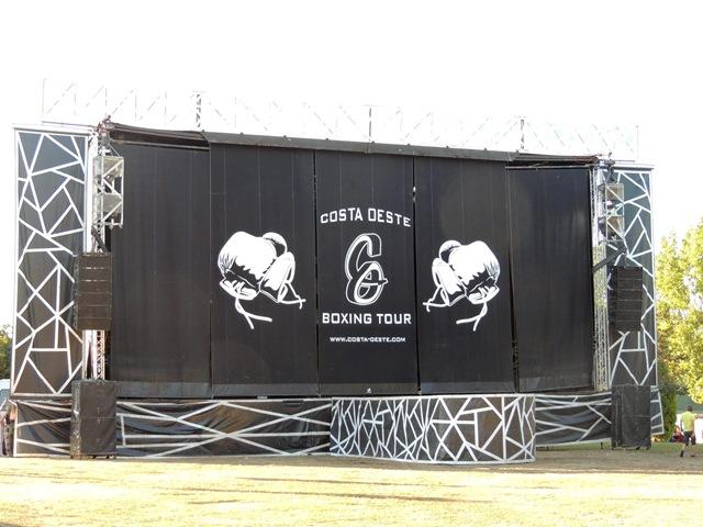 Escenario Costa Oeste Boxing Tour