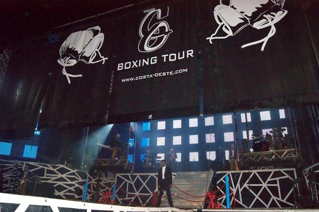 Costa Oeste Subiendo Telón Boxing Tour