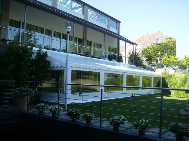 Hotel A Quinta da Auga ha confiado a TGM la cubierta de una de sus terrazas para un mejor provecho de la misma