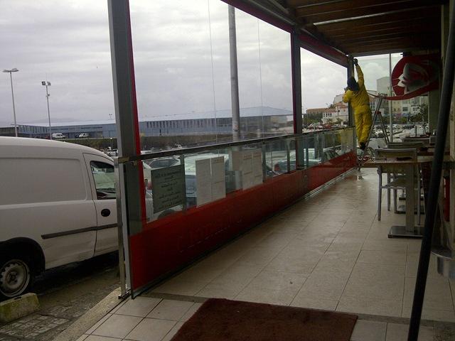 Restaurante o centolo blog for Sujeciones para toldos