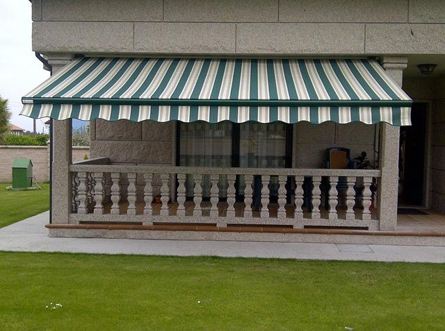 Toldos para cubrir las terrazas y resguardarse de los rayos solares e incluso de la lluvia