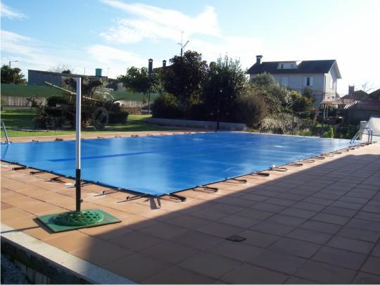 Cubierta piscina blog for Cubiertas de lona para piscinas