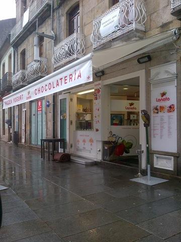 En la Lanata (Pontevedra) se ha realizado un cambio de tela al toldo