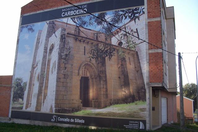 Impresión digital sobre rejilla de grandes dimensiones (Monasterio de Carboeiro-Silleda)