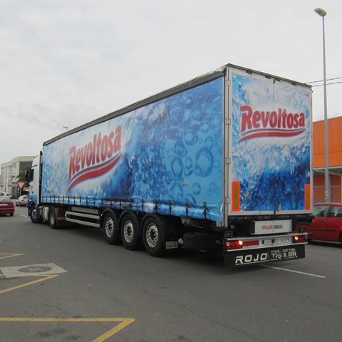 Camión en impresión digital, Revoltosa