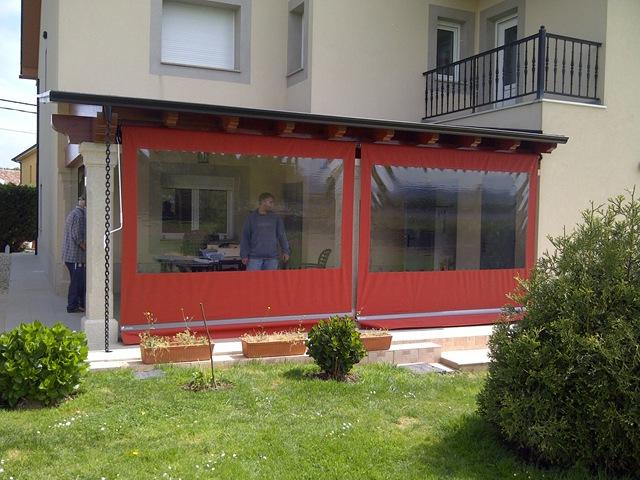 Cerramientos de plastico para terrazas