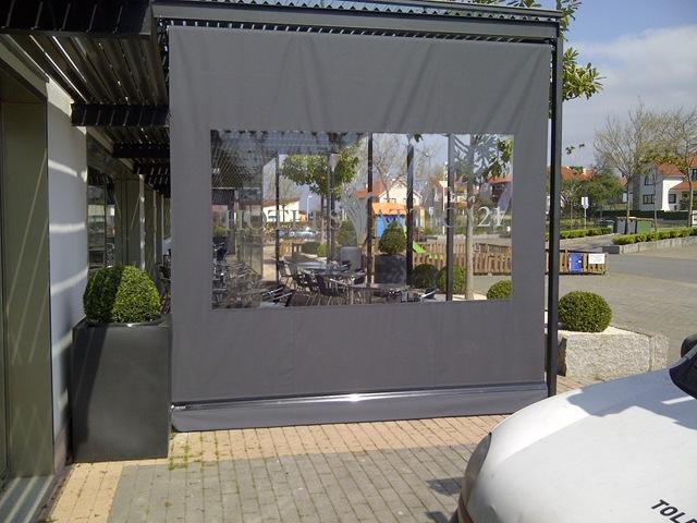 Cerramiento lateral o frontal blog for Rieles para toldos de techo
