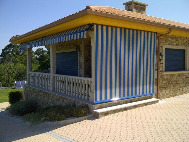 Cofre blog for Cerrar porche jardin