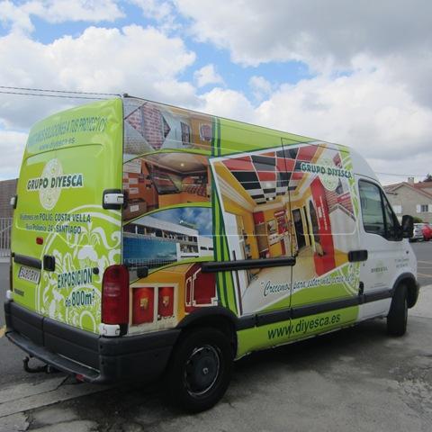 Grupo Diyesca confía una vez más en TGM para la rotulación de sus vehículos