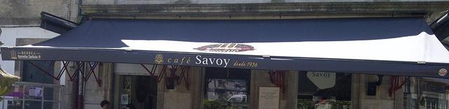 El bar Savoy ha reabierto sus puertas y TGM ha estado allí para colocarle su nuevo toldo