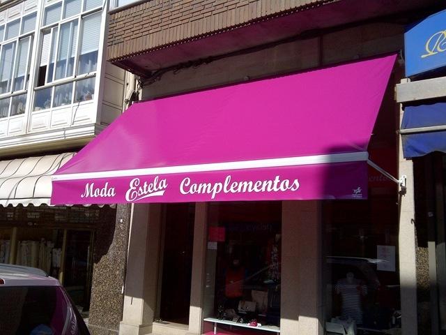 Marzo 2012 blog for Toldos para comercios