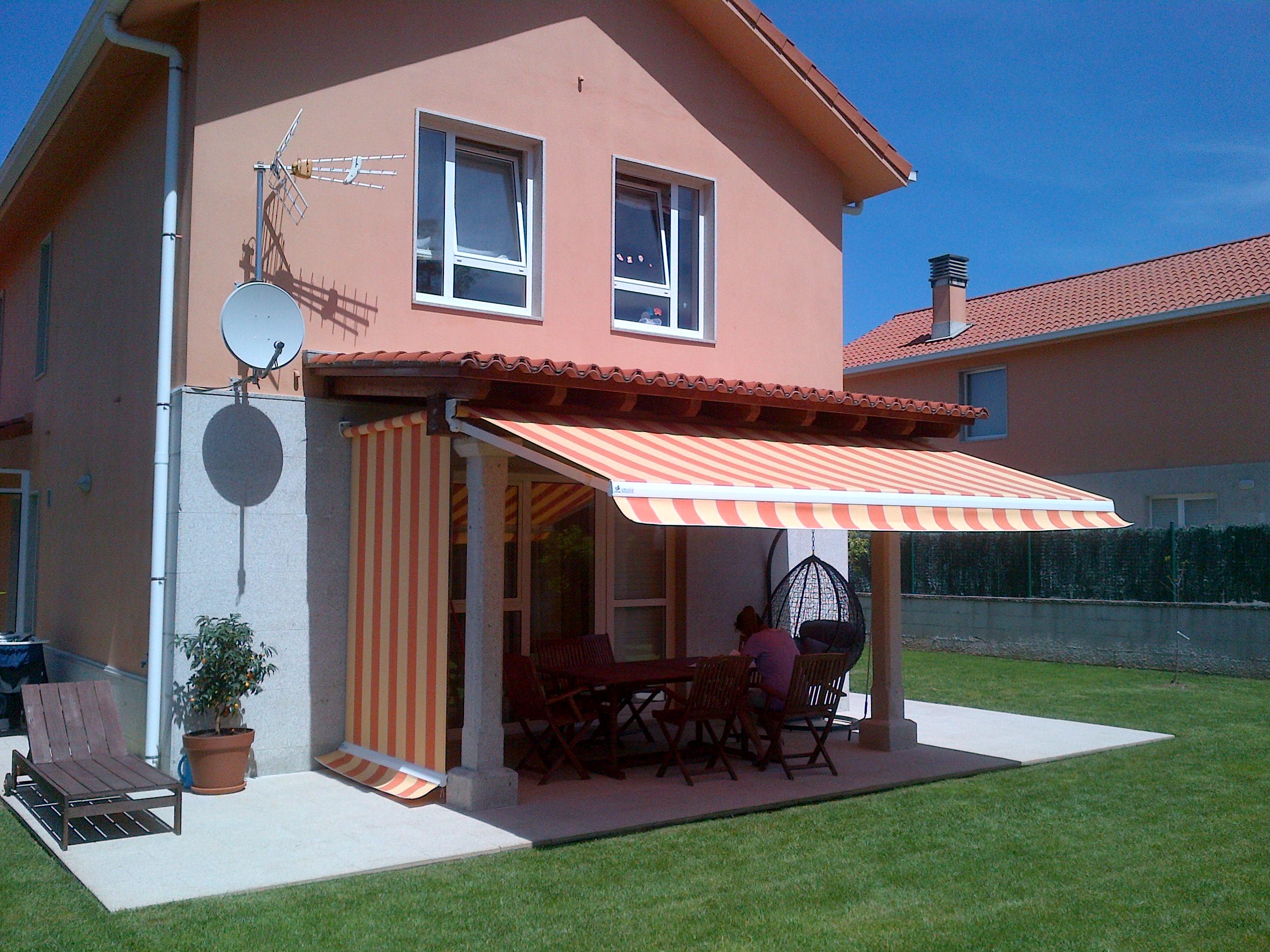Blog lona pvc for Toldo lateral para terraza