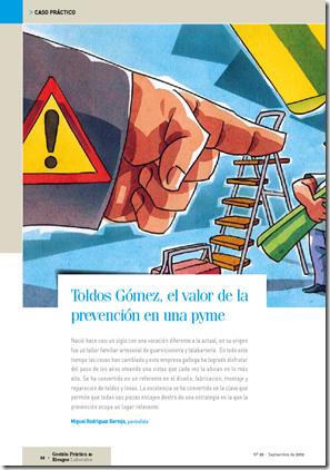 Toldos Gómez, el valor de la prevención en una PYME