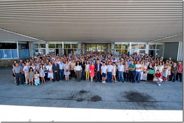 Foto de grupo homenaje Antonio Gómez