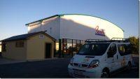 Las instalaciones deportivas del Concello de Barreiros se visten de gala.