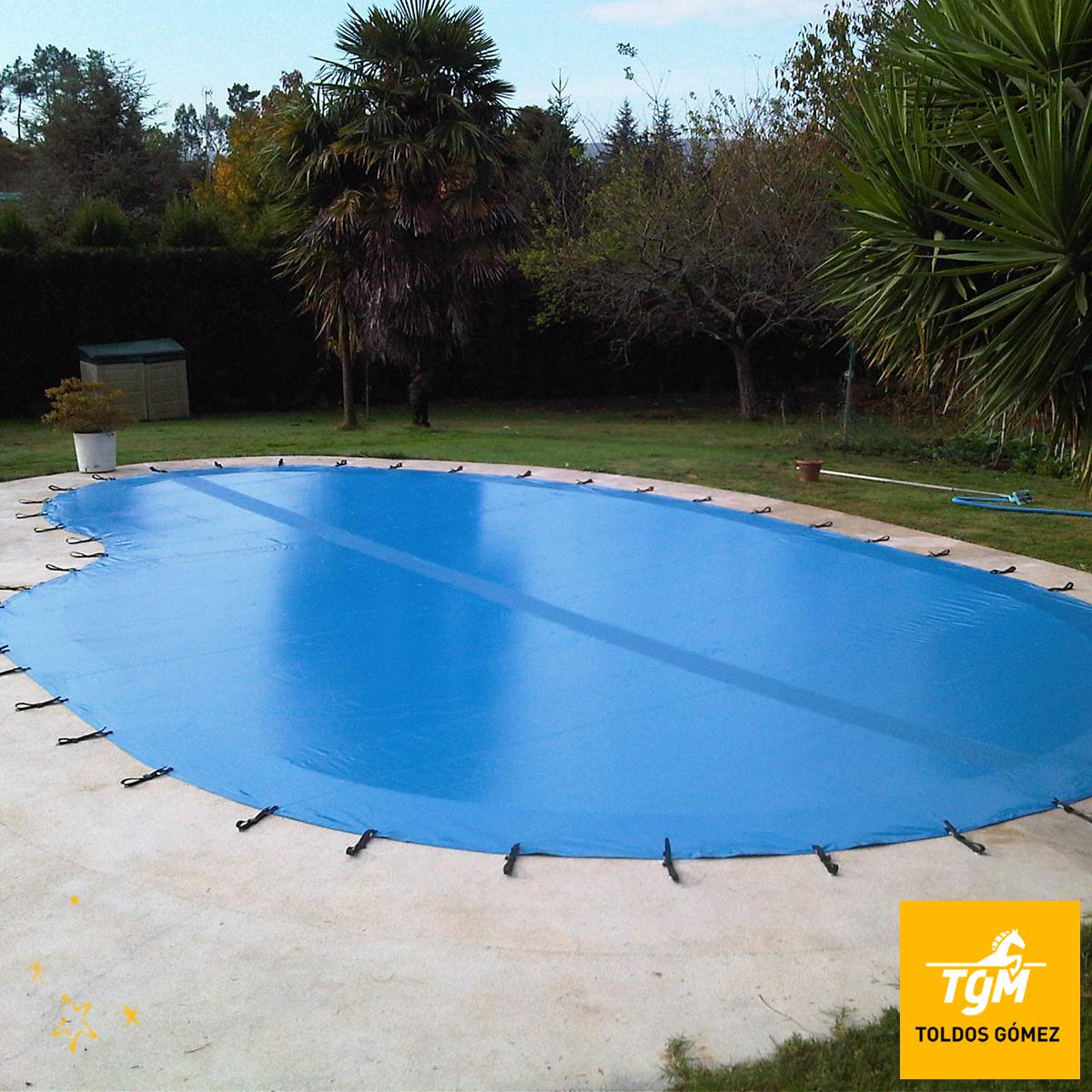 Lona para piscina affordable razones para cubrir una for Lonas para tapar piscinas