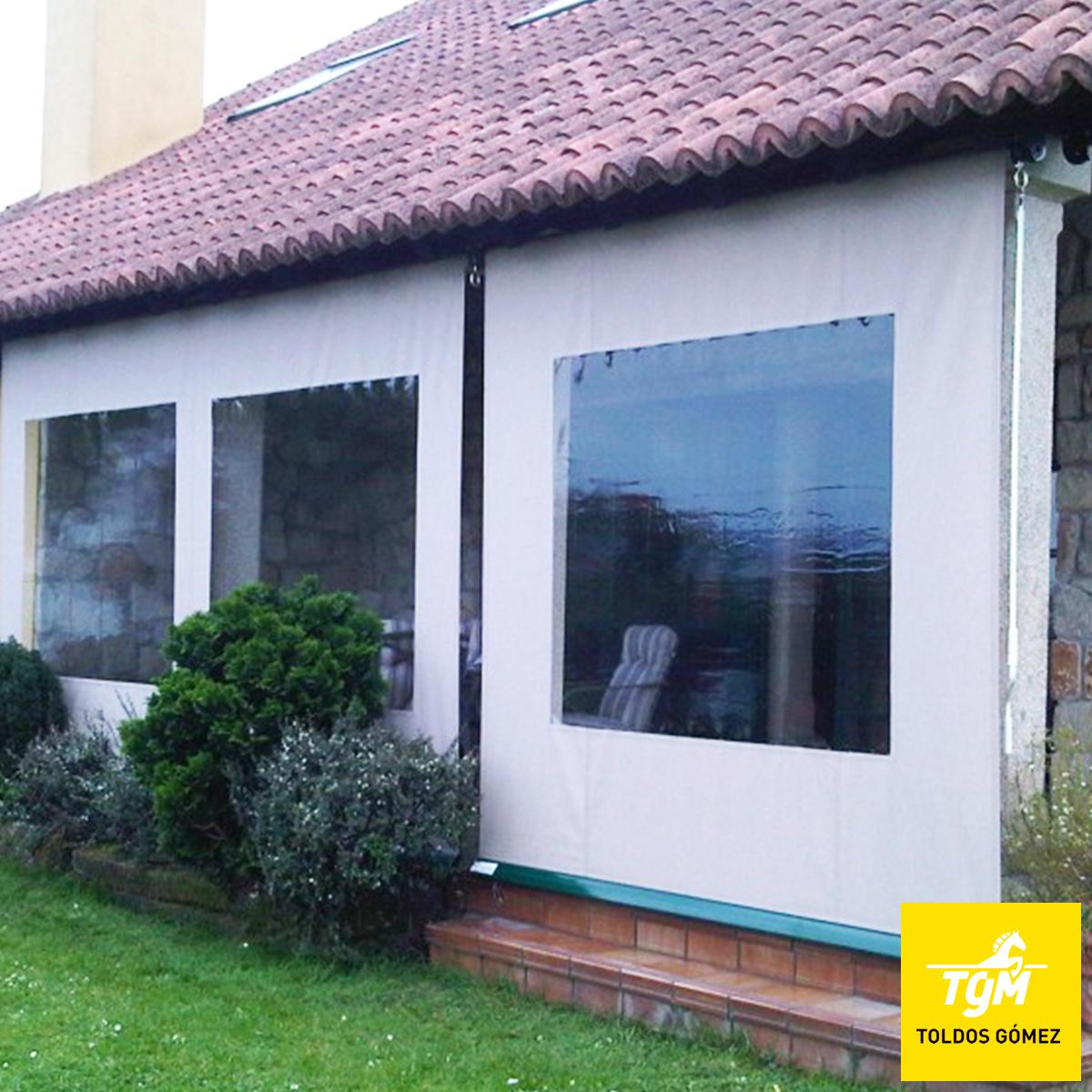 Porche blog for Toldo horizontal terraza