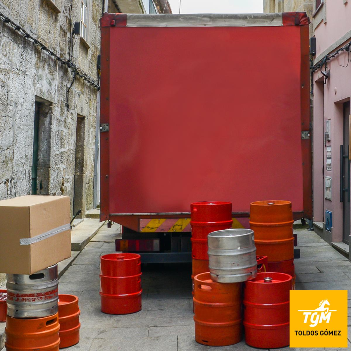 Protección y Seguridad de mercancía para camión