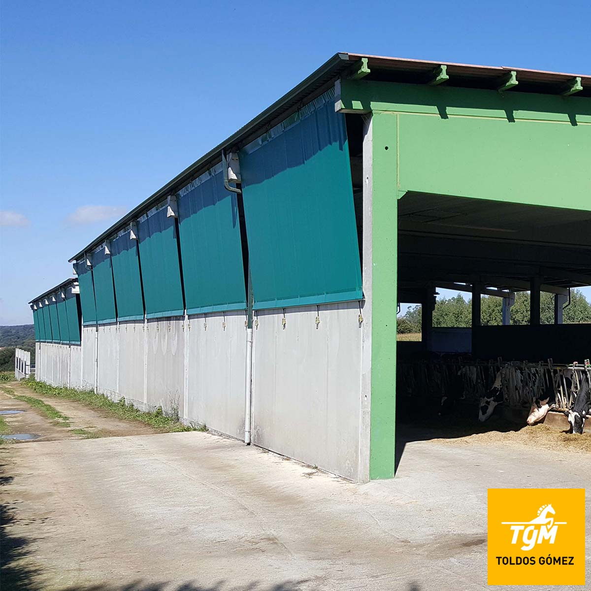 Conoce nuestros textiles técnicos y protege tus instalaciones agrícolas o ganaderas.