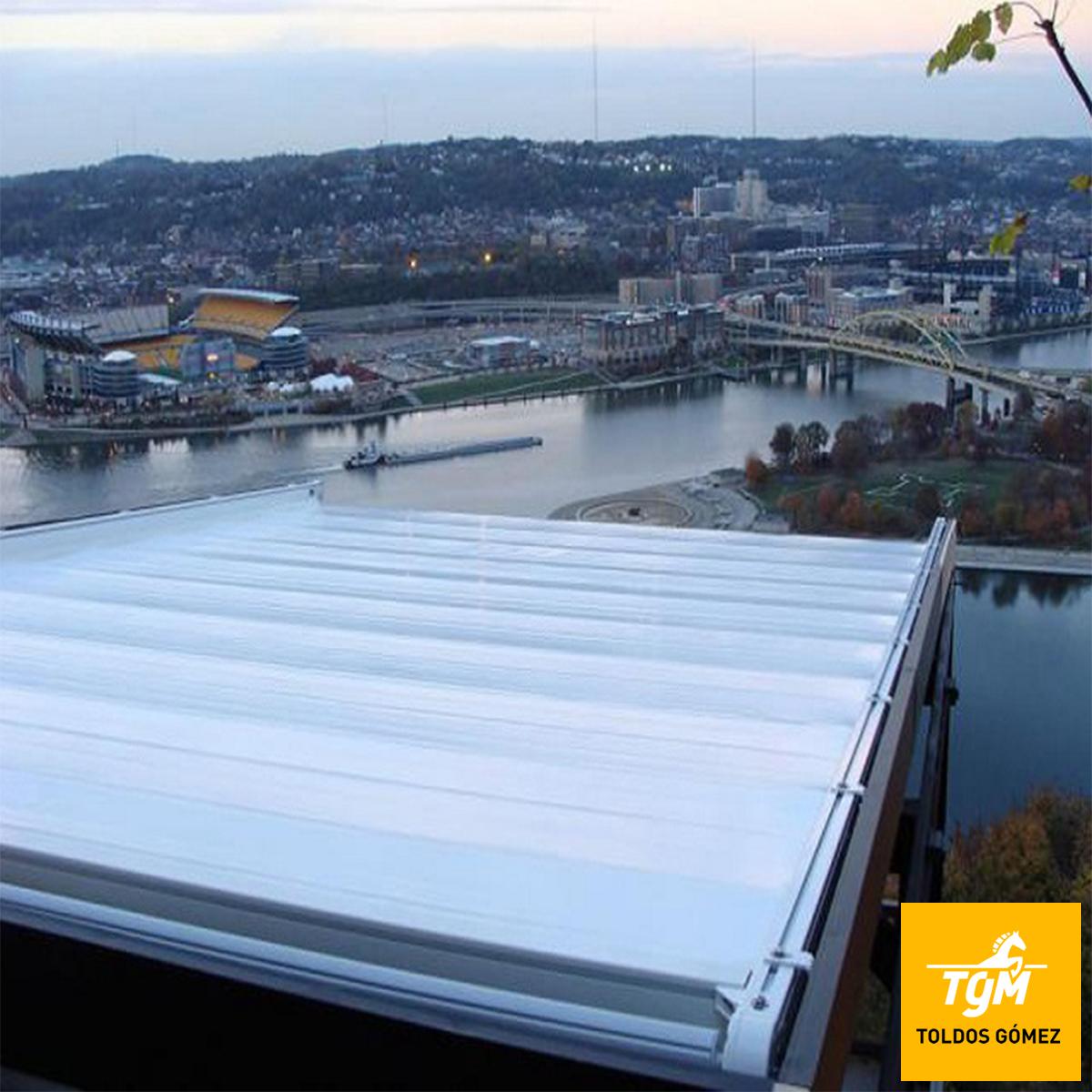 Los toldos Eume son perfectos para proteger tu terraza del sol y el viento