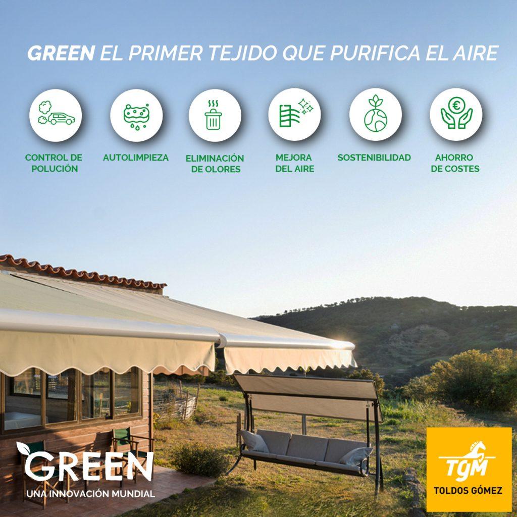 Las ventajas del tejido Green