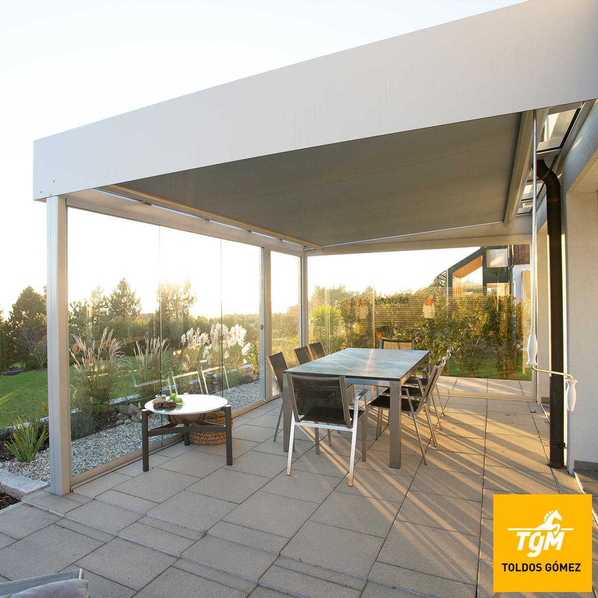 toldo casa terraza