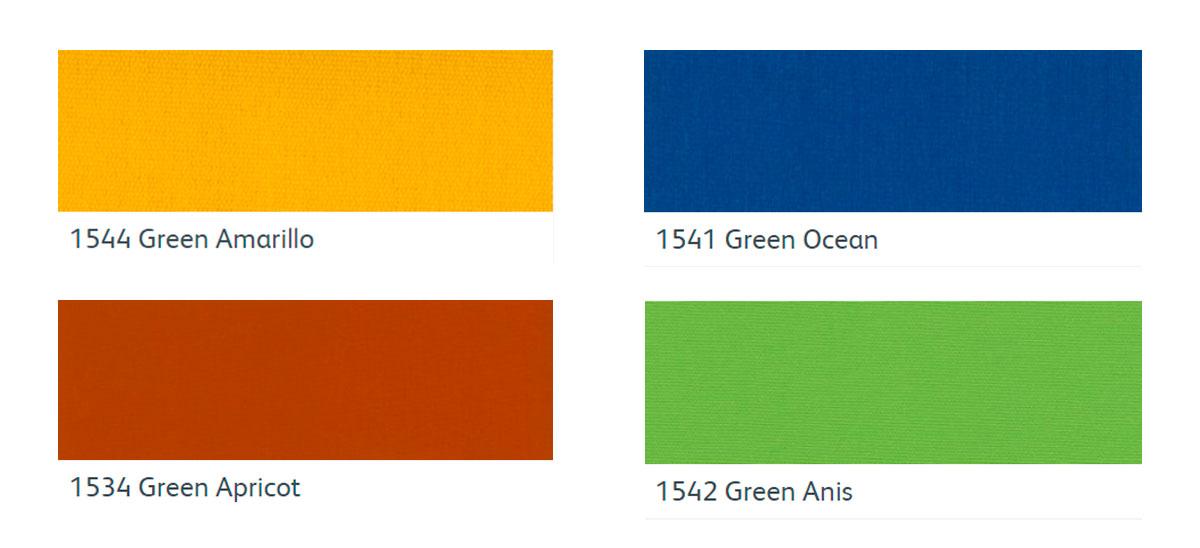 renovar tela toldo tejido Green