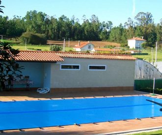 Cubiertas medida piscina